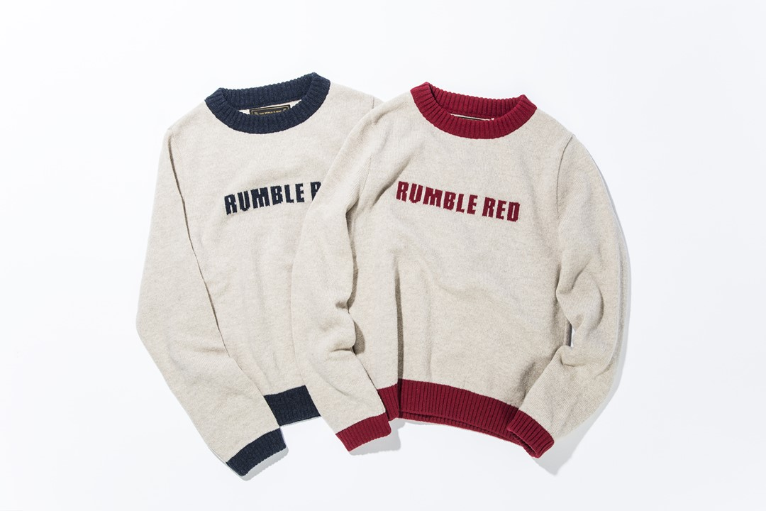 RUMBLE RED / Ringer Sweater