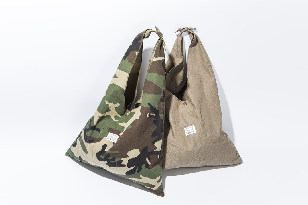 HOLIDAY GIFT : 4. kha:ki/Tie Bag Camo&Tie Bag Solid