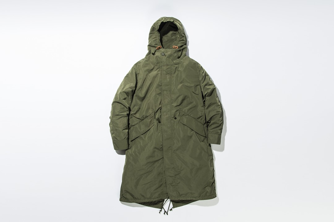 kha:ki /Long Light Field Coat