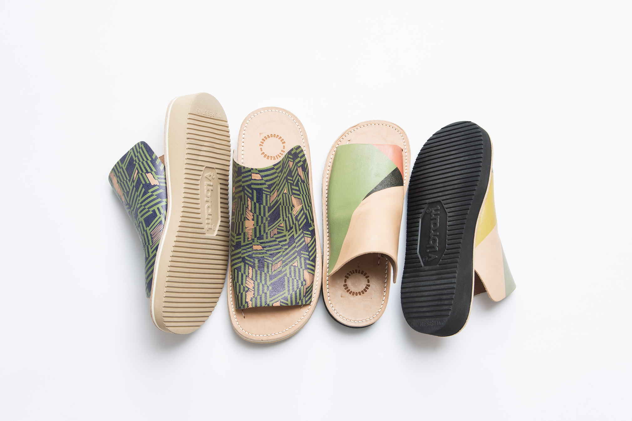 『YARN&COPPER × Portaille Sandals Collection』