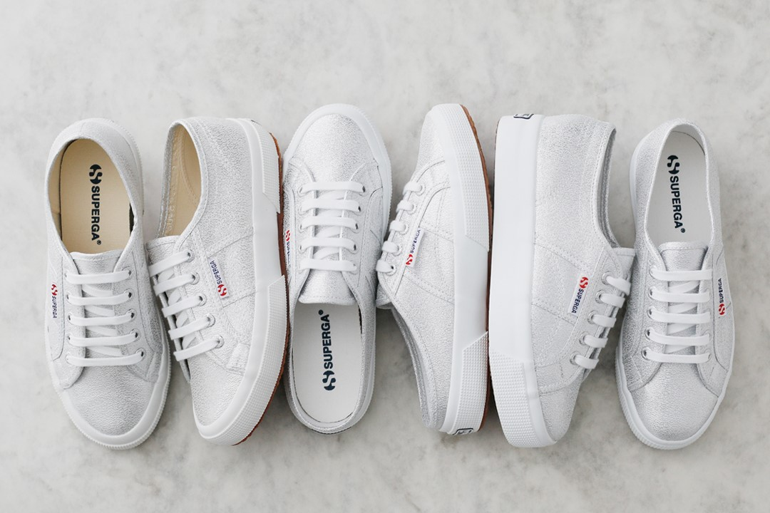 SUPERGA/SILVER LAME SERIES