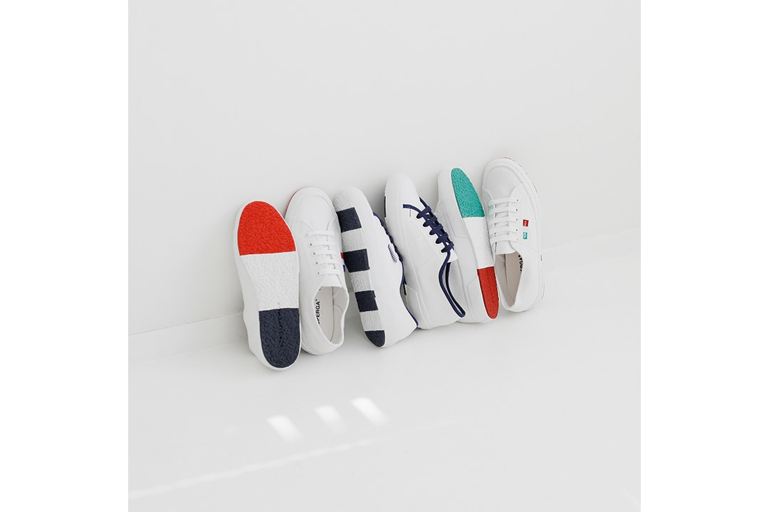 "SUPERGA/~JAPAN SMU~""FLAG SERIES"""